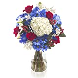 eFlowy - 4thJuly Floral Vase