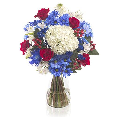 eFlowy - 4thJuly Floral Vase by eFlowy