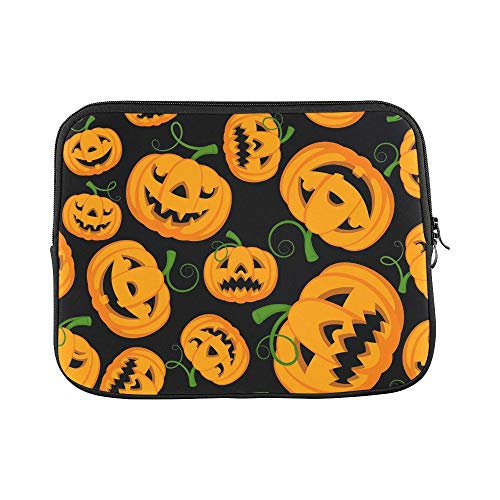 Design Custom Halloween Themed Scan Be Repeated Sleeve Soft Laptop Case Bag Pouch Skin for MacBook Air 11