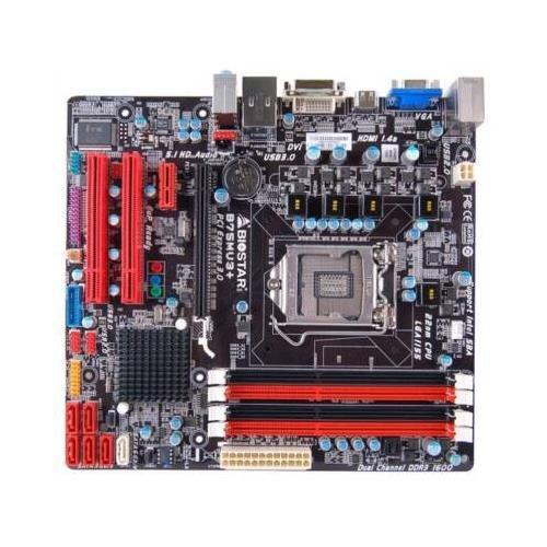 - Biostar B75MU3+ -LGA1155 Intel B75 chipset DDR3 SATA PCI Express USB HDMI/VGA/DVI microATX Motherboard