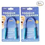 #1 Tongue cleaner For you oral health Genkent® tongue cleaner is made from stainless steel and has comfortable grip handles for easier use and to get right to the back of the tongue. Stainless steel makes it easy to keep your tongue scraper clean and...