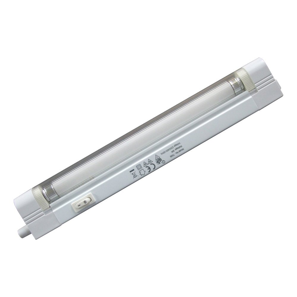 Knightsbridge T46 - T4 6w Fluorescent Slimline Kitchen Link Light (Single)