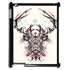 Animal Art Artificial Brand New Cover Case with Hard Shell Protection for Ipad2,3,4 Case lxa#837436