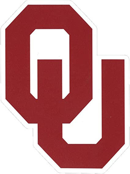 Oklahoma Sooners OU NCAA 8 X 8 Color Die-Cut Decal