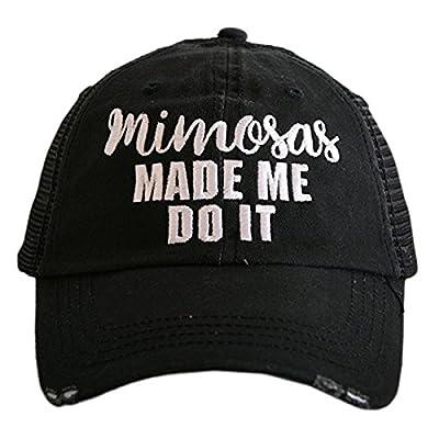 Katydid Mimosas Made Me Do It Trucker Hat