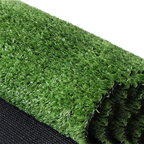 YNFNGXU 人工芝草15 Mm杭の高さ、暗号化ソフトグリーン合成偽緑の芝生庭ペット芝生マット屋外装飾(2M×1M) (Size : 2x1.5m)