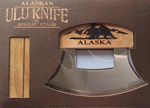 Arctic Circle Ulu w/Rustic Bear 18350