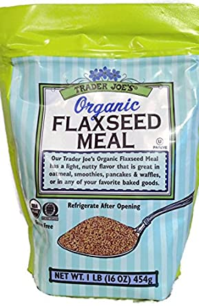 Trader Joes Organic Gluten Free Flaxseed Meal 1lb (16 oz)