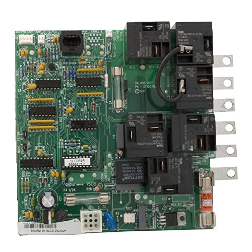 Balboa Water Group 51707 Dimension 1 Replacement SLCD Digital Duplex Circuit Board ()