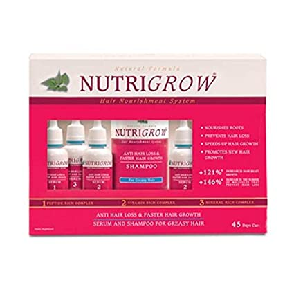 Nutrigrow Hair Nourishment System Serum & Shampoo - Dry & Normal Hair