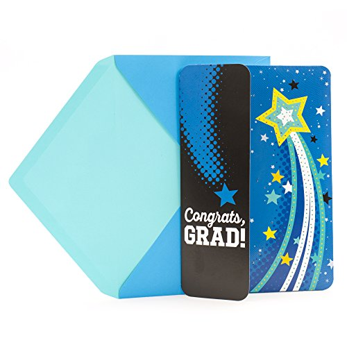 Hallmark Graduation Greeting Card with Light and Sound (Plays My Wish by Rascal ()