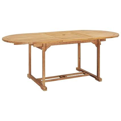 Festnight Table De Bar De Jardin Table De Jardin En Bois