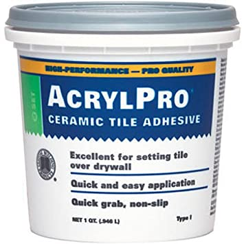Custom Building Products ARL4000QT 1 Quart AcrylPro Ceramic Tile