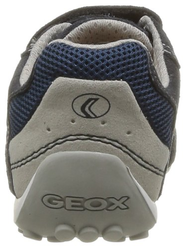 Geox JR SNAKE BOY B - Zapatillas de lona para niño - Multicolor (Navy/Lt Blue)