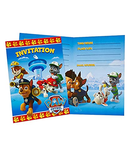 PAW Patrol Party Invitations, 16ct for $<!--$7.00-->