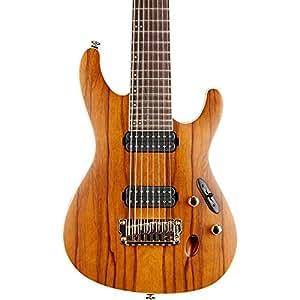 ibanez s5528lw prestige s series 8 string electric guitar hazelnut ale brown. Black Bedroom Furniture Sets. Home Design Ideas