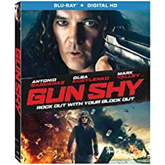 GUN SHY starring Antonio Banderas arrives on Blu-ray, DVD and Digital HD Nov. 7 from Lionsgate