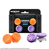 KontrolFreek Gamerpack FPS Freek Galaxy + Vortex Performance Thumbsticks for PlayStation 4 (PS4)| 1 High-Rise, 1 Mid Rise (Galaxy) 1 High-Rise, 1 Mid Rise (Vortex)