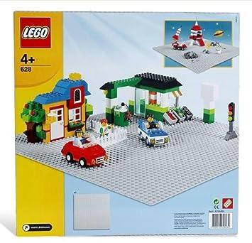LEGO 628 Extra Large Grey Building Baseplate