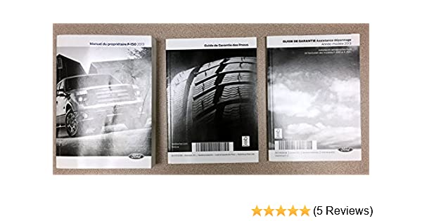 Ford F  Owners Manual Paperback Box Set
