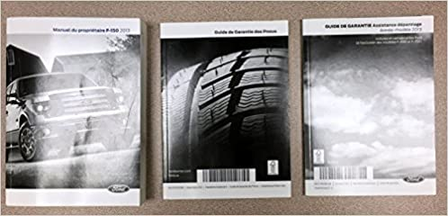 2013 Ford F 150 Owners Manual Ford 0811387017181 Amazon