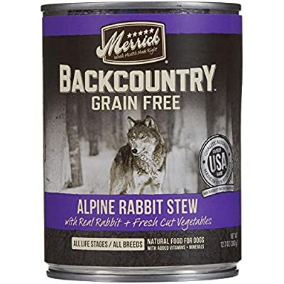 Merrick Backcountry - Alpine Rabbit Stew - 12.7 Oz - 12 Ct