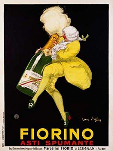 Posterazzi Fiorino Asti Spumante 1922 Poster Print by Jean DYlen (22 x 28) ()