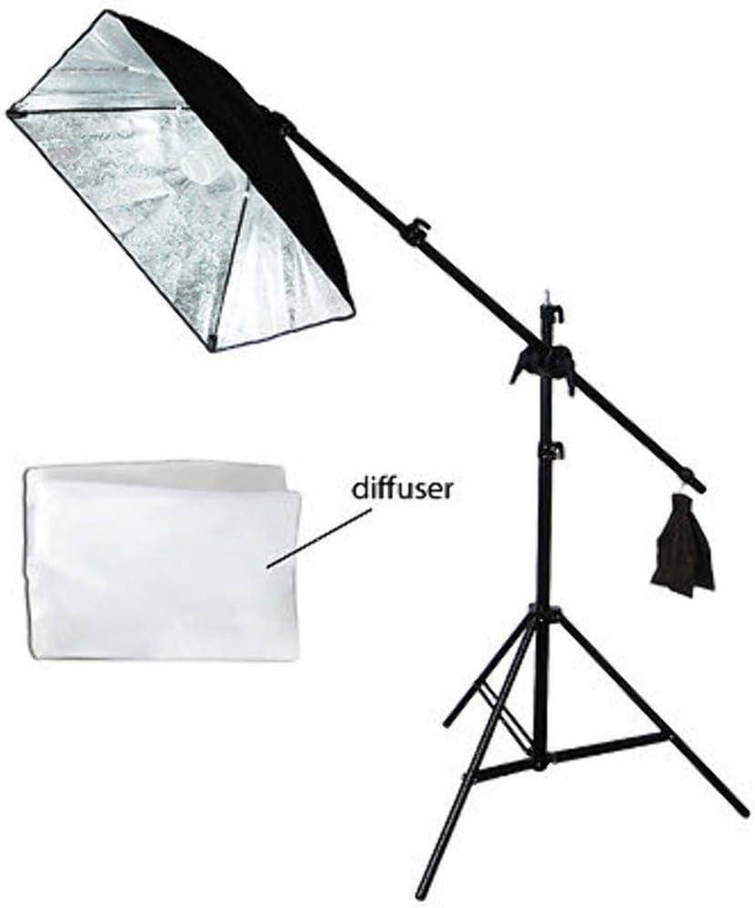 Pro Photo Studio Softbox Lighting Boom Arm Stand Video Hair Lighting Kit Boom