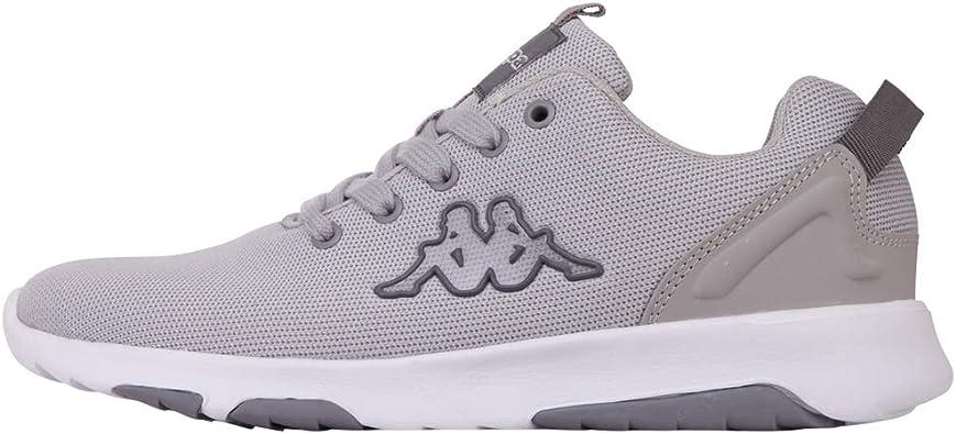 Kappa Women's Low-Top Sneakers, Grey L
