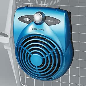 Amazon Com Proselect Deluxe Thermostatic Pet Crate Fan