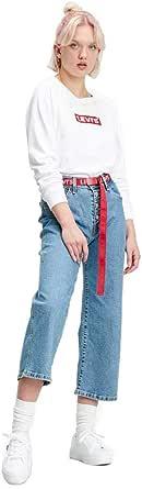 Levi's Relaxed Graphic Crew Long Sleeve Sudadera para Mujer