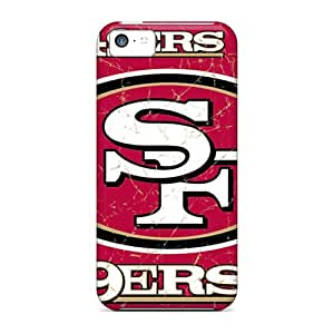 Awesome LpB566crWQ YOXIGKL Defender Tpu Hard Case Cover For Iphone 5c- San Francisco 49ers