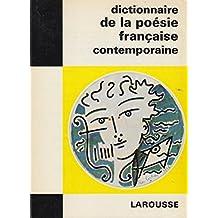 Dictionnaire de la poésie française contemporaine