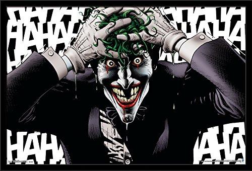 Trends International Wall Poster Joker Crazy, 22.375