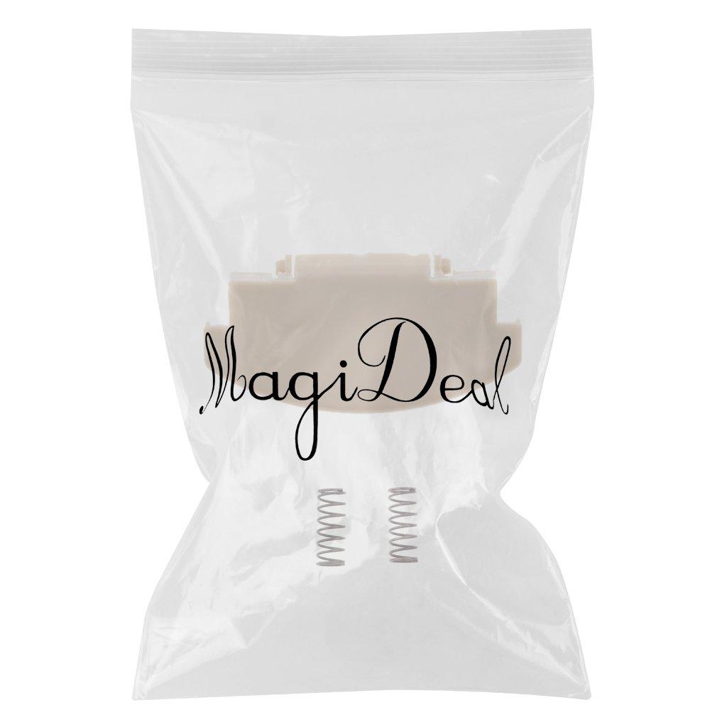 MagiDeal Pestillo Tapa de Apoyabrazo para Coche Pieza de Reemplazo Beige