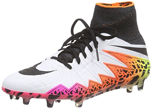 Compétition Volt Homme Football de Total NIKE Black II FG Hypervenom Orange Phantom White Chaussures Blanc Y0qp68