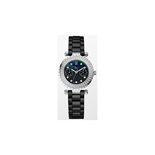 Reloj Guess Collection Gc Diver Chic 96 Diamon A28102l2 Mujer Nácar: Amazon.es: Relojes