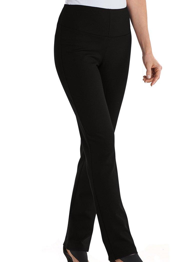 AmeriMark Tummy-Control Slim-Leg Pants