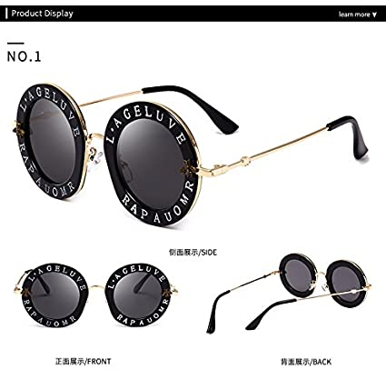 Amazon.com: Casual Fashion Eyewear Mujer Vintage Bee letras ...