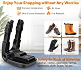 Manledio Portable Smart Electric Shoe Boot Dryer