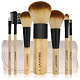 Best SHANY Cosmetics Liquid Foundation Makeups - SHANY Bamboo Brush Set with Premium Synthetic Hair Review