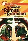 Le combat de Rémus et Romulus par Montardre