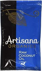 Artisana Organics - Coconut Oil Extra Virgin, Non-Hydrogenated and Cholesterol-Free, USDA and Non-GMO (10-Pack,1.06 oz)