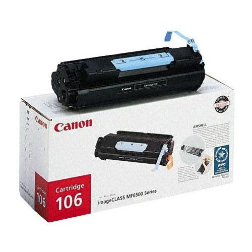 Canon 106 imageCLASS MF6530, 6550, 6560, 6560cx, 6580, 6580cx Toner 5,000 Yield, Part Number 0264B001AA