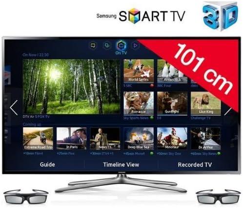 SAMSUNG Televisor LED 3D Smart TV UE40F6400 + Gafas 3D Active SSG-5100GB: Amazon.es: Electrónica