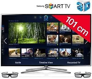 SAMSUNG Televisor LED 3D Smart TV UE40F6400 + Soporte mural fijo negro: Amazon.es: Electrónica