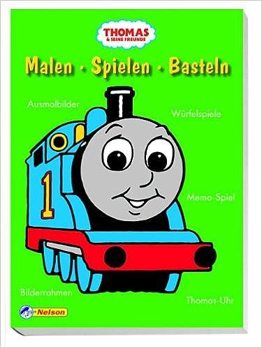 Thomas Und Seine Freunde Malen Spielen Basteln Ausmalbilder