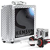 Kensun Slim HID Kit with Xenon Lights, 9005, 6000K - 2 Year Warranty