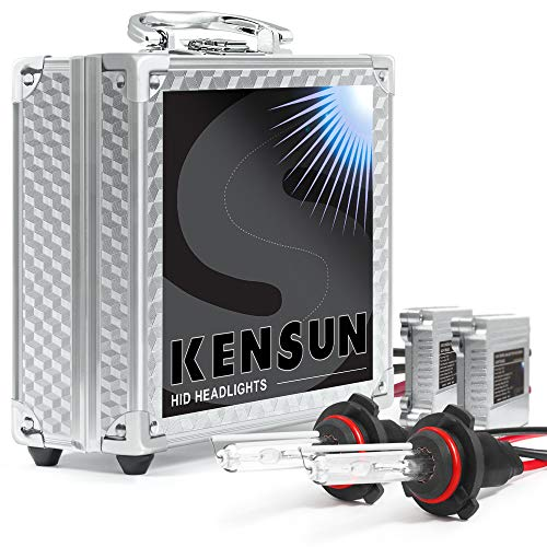 "HID Xenon Headlight ""Slim"" Conversion Kit by Kensun, 9006, 5000K"
