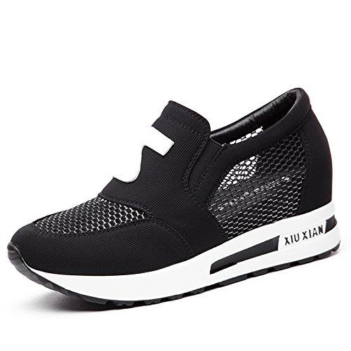 Calzado Interior Zapatos transpirable Malla Salvaje Transpirable En mujer Primavera HBDLH Hollow Calzado Deportes El de De cómodo Red Verano white Casual wF8P0Utq